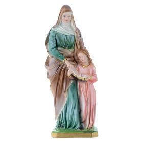 Statua Sant'Anna 30 cm gesso s1