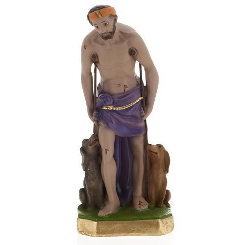 Statua San Lazzaro 30 cm gesso 1