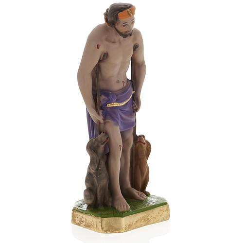Statua San Lazzaro 30 cm gesso 2