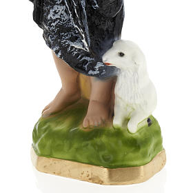 Infant St John the Baptist statue in plaster, 30 cm s3