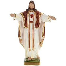 Statua Sacré Coeur de Montmartre 30 cm gesso s1