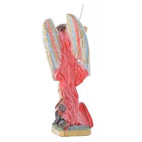 Statua San Michele Arcangelo 30 cm gesso s4
