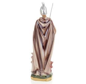 Statua San Giorgio 30 cm gesso s5