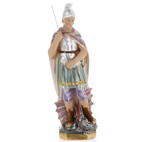 Statua San Giorgio 30 cm gesso 1