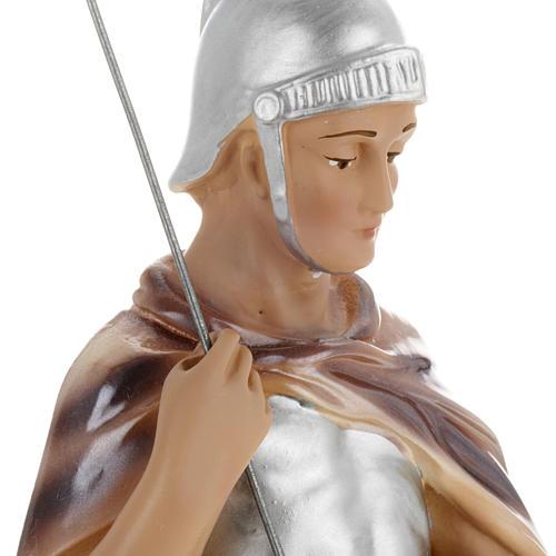 Statua San Giorgio 30 cm gesso 3