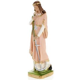 Estatua Santa Filomena 30cm. yeso s3