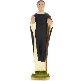 Blessed John of Vercelli statue in plaster, 30 cm s1
