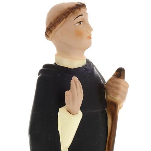 Blessed John of Vercelli statue in plaster, 30 cm 2
