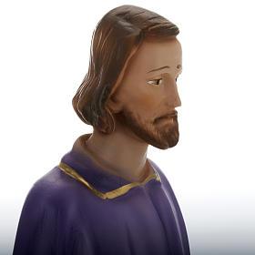 Statua San Giuseppe lavoratore 30 cm gesso s2