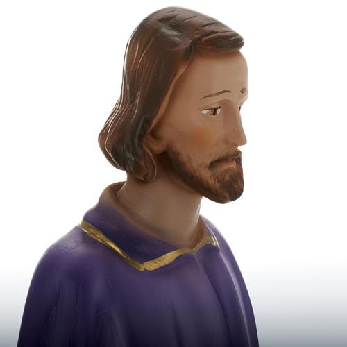 Statua San Giuseppe lavoratore 30 cm gesso 2