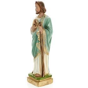Statua San Giuda 30 cm gesso s3