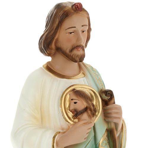 Statua San Giuda 30 cm gesso 2