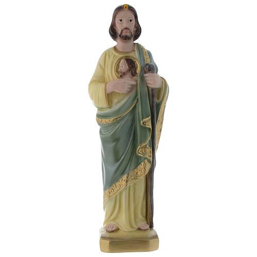 Statua San Giuda 30 cm gesso 1