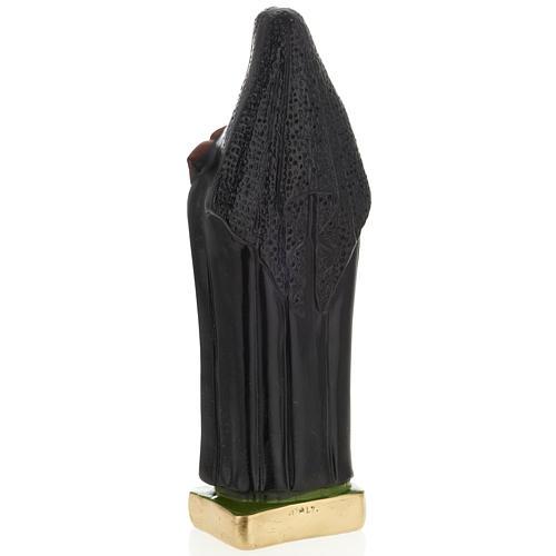 Estatua Santa Francesca Saverio Cabrini 30 cm. yeso 3