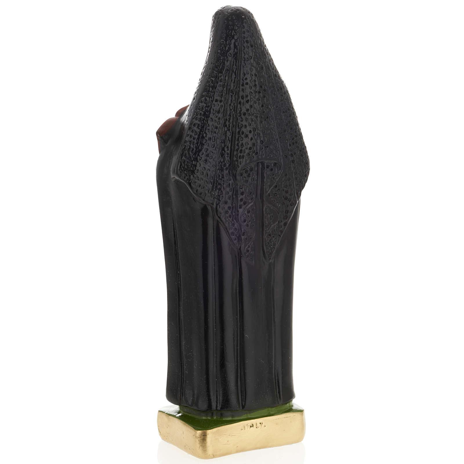 Sainte Françoise-Xavière Cabrini plâtre 30cm 4