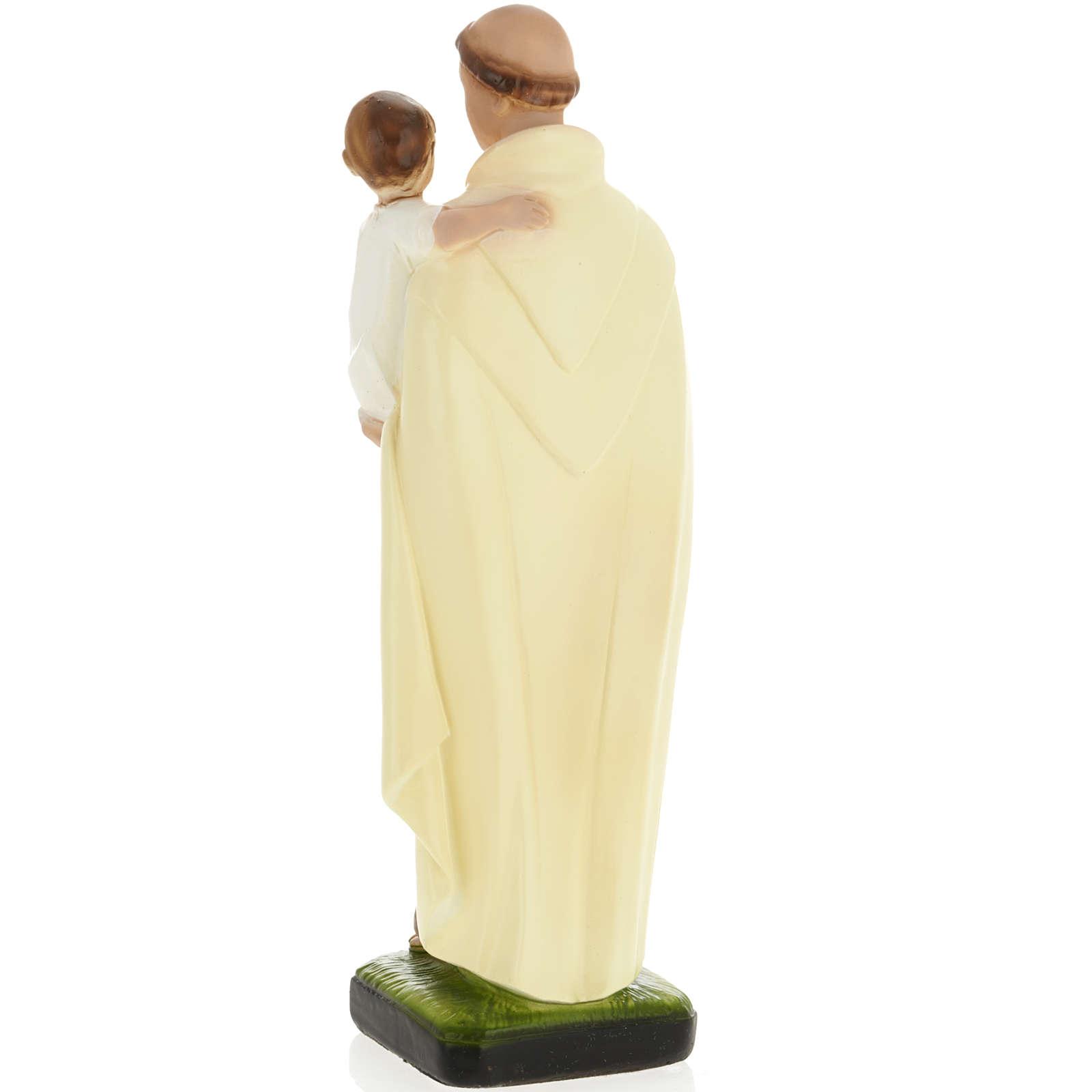 Statua Sant'Alberto 30 cm gesso 4