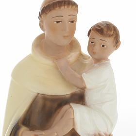 Statua Sant'Alberto 30 cm gesso s2