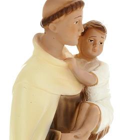 Statua Sant'Alberto 30 cm gesso s4