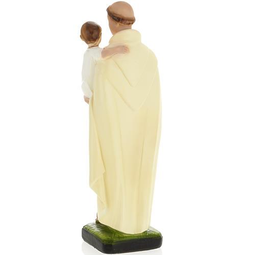 Statua Sant'Alberto 30 cm gesso 3
