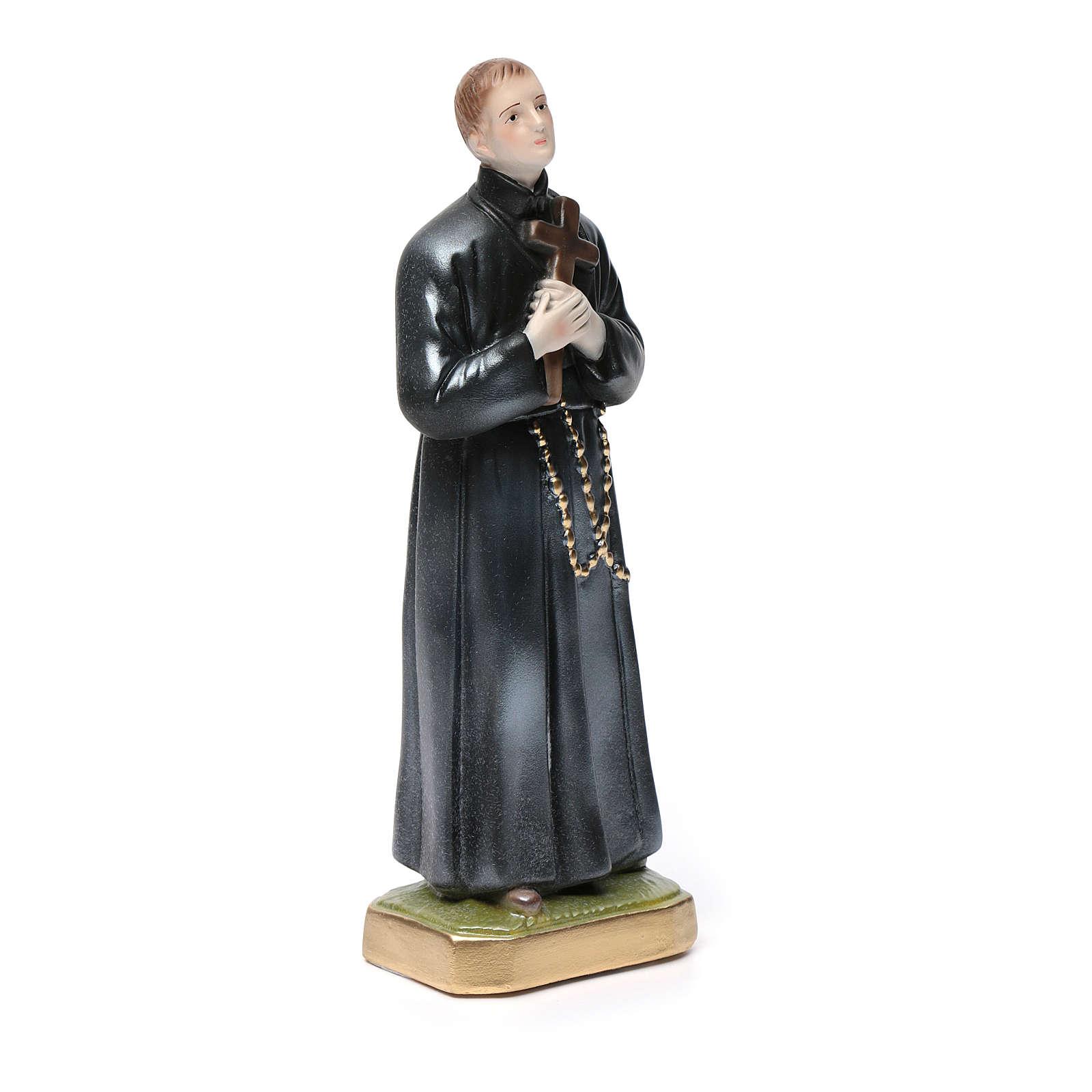Saint Gerard statue in plaster, 30 cm 4