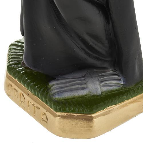 Statue Sainte Rita plâtre 30 cm 3