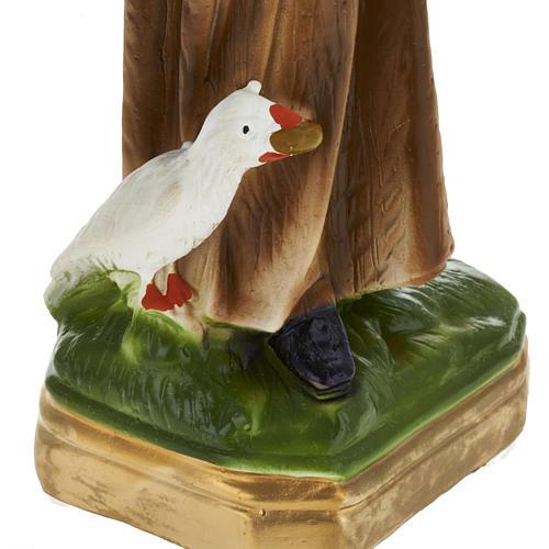 Estatua San Benito 30 cm. yeso 3