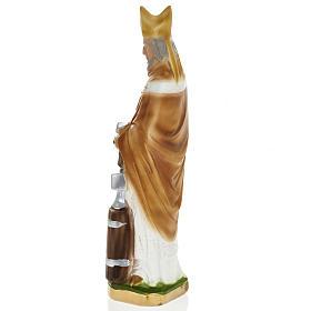Estatua San Eloy de Noyon 30 cm. yeso s4