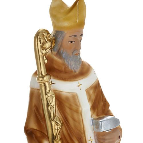 Estatua San Eloy de Noyon 30 cm. yeso 2