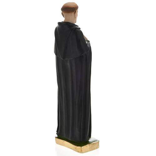 Statue Saint Pérégrin Laziosi plâtre 30 cm 4
