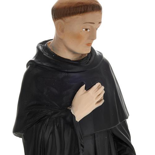 Statua San Pellegrino Laziosi 30 cm gesso 2