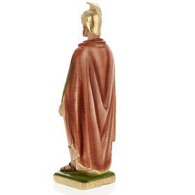 Saint Donatus statue in plaster, 30 cm s3