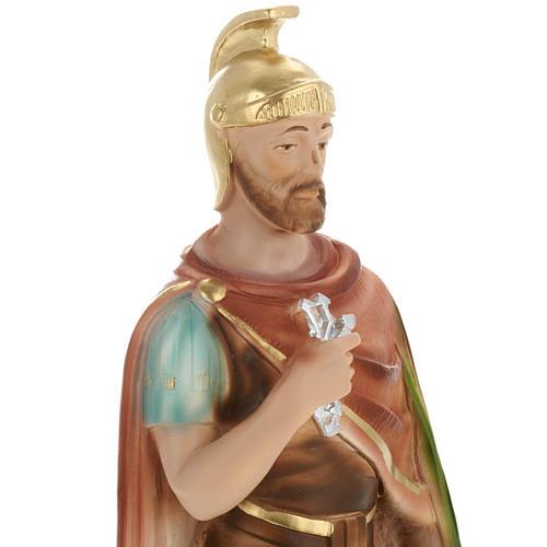 Saint Donatus statue in plaster, 30 cm 2