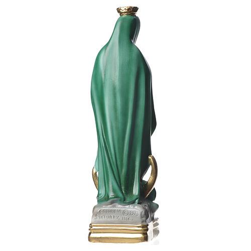 Statua Madonna di Guadalupe 30 cm gesso madreperlato 3