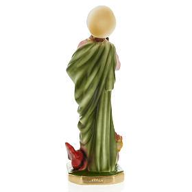 Statue Saint e Marthe plâtre 30 cm s4