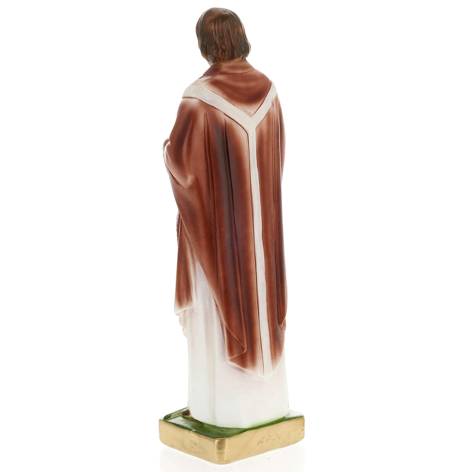 Statua St. Edmund 30 cm gesso 4