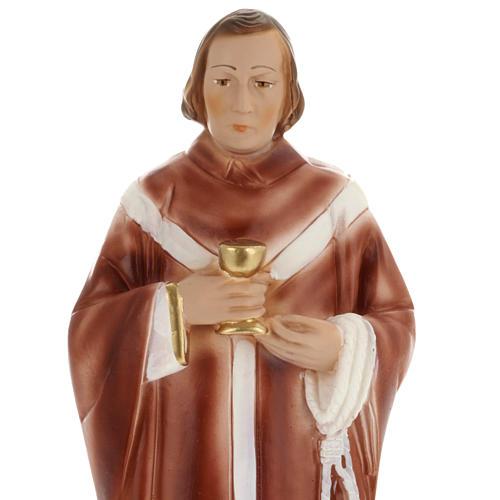 Statua St. Edmund 30 cm gesso 2