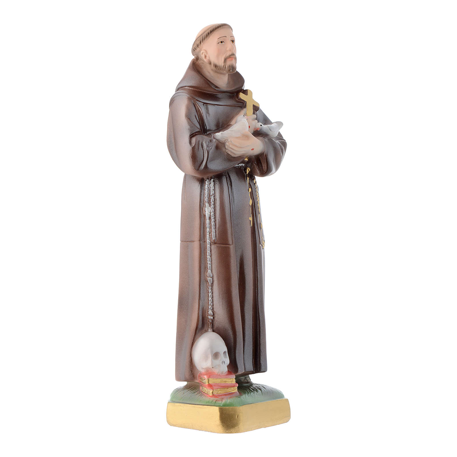 Estatua San Francisco 30 cm. yeso 4