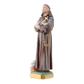 Estatua San Francisco 30 cm. yeso s2