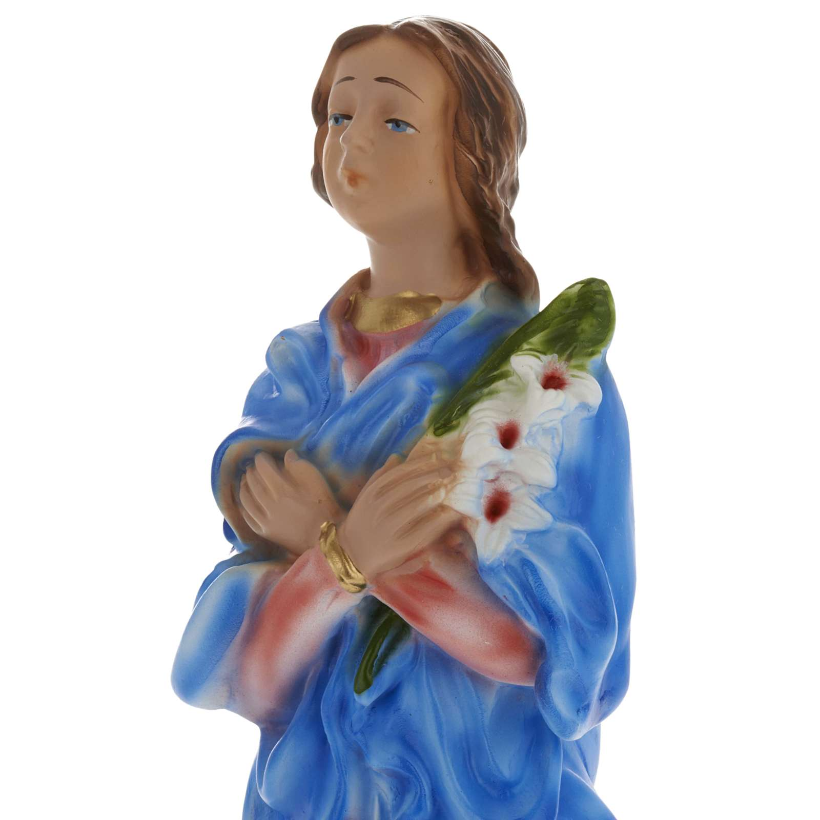 Statue Sainte Maria Goretti plâtre 30 cm 4
