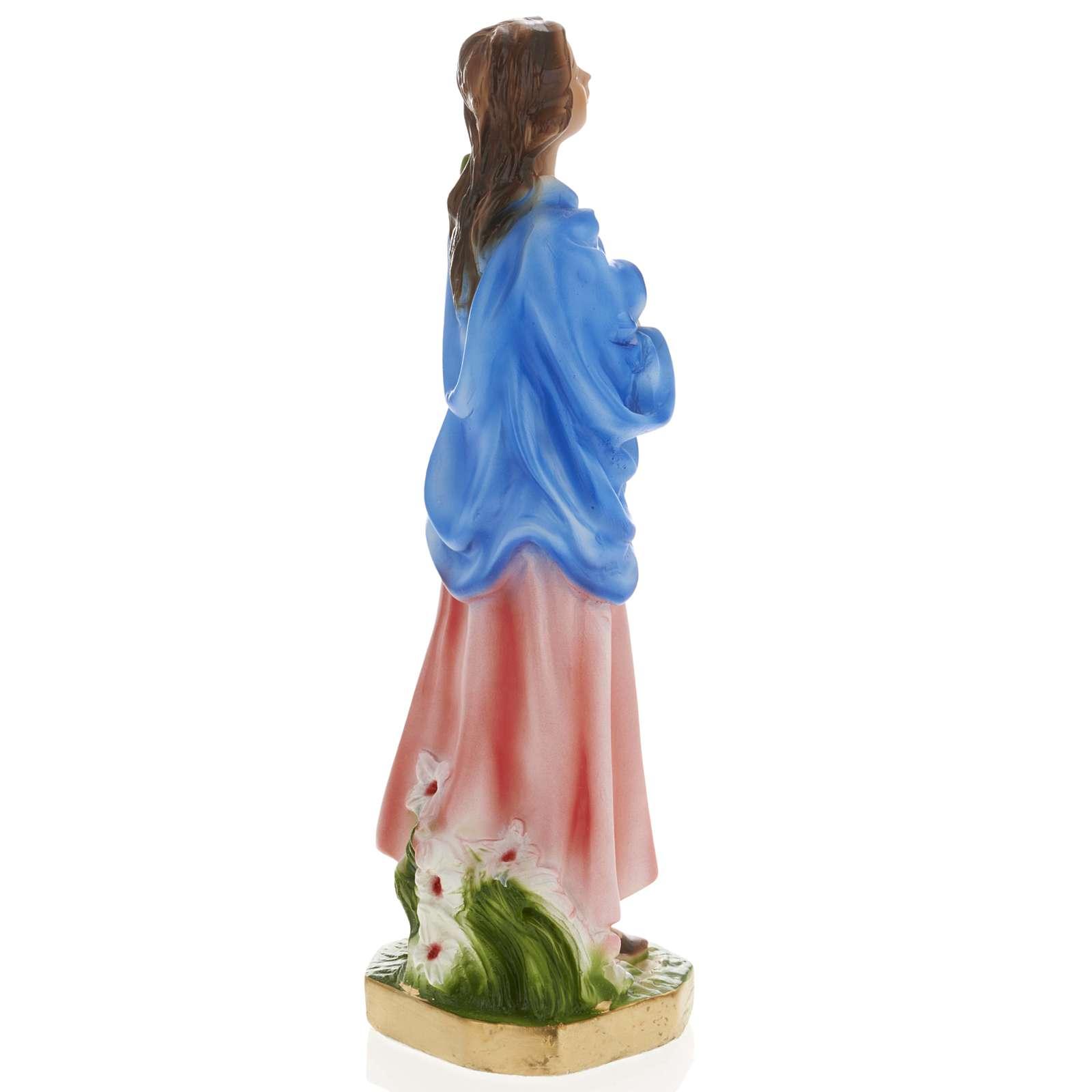 Statua Maria Goretti 30 cm gesso 4