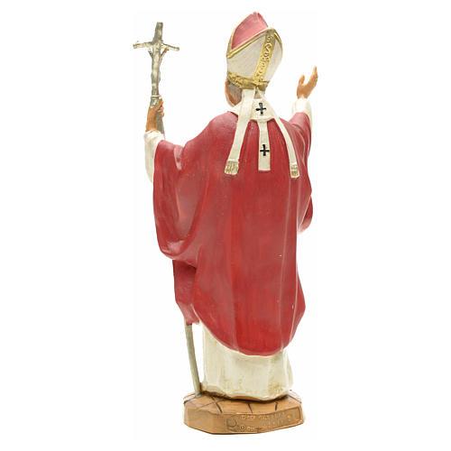 Statua Madonna con bambino 25 cm gesso 6