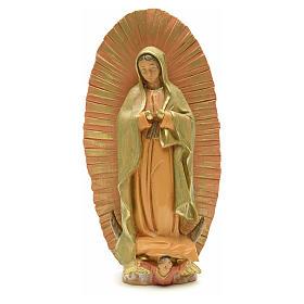 Statua Madonna di Lourdes 40 cm gesso s6