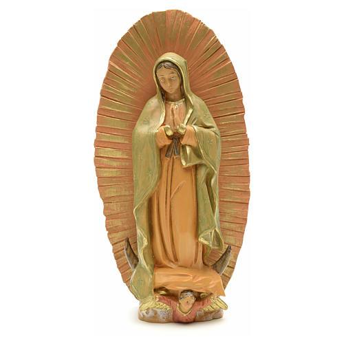 Statua Madonna di Lourdes 40 cm gesso 6