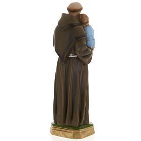 Statua Sant'Antonio da Padova 40 cm gesso s5