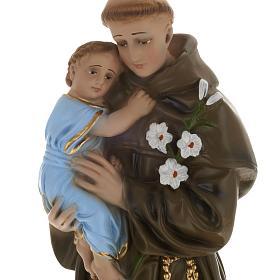 Saint Anthony of Padua plaster statue, 40 cm s2