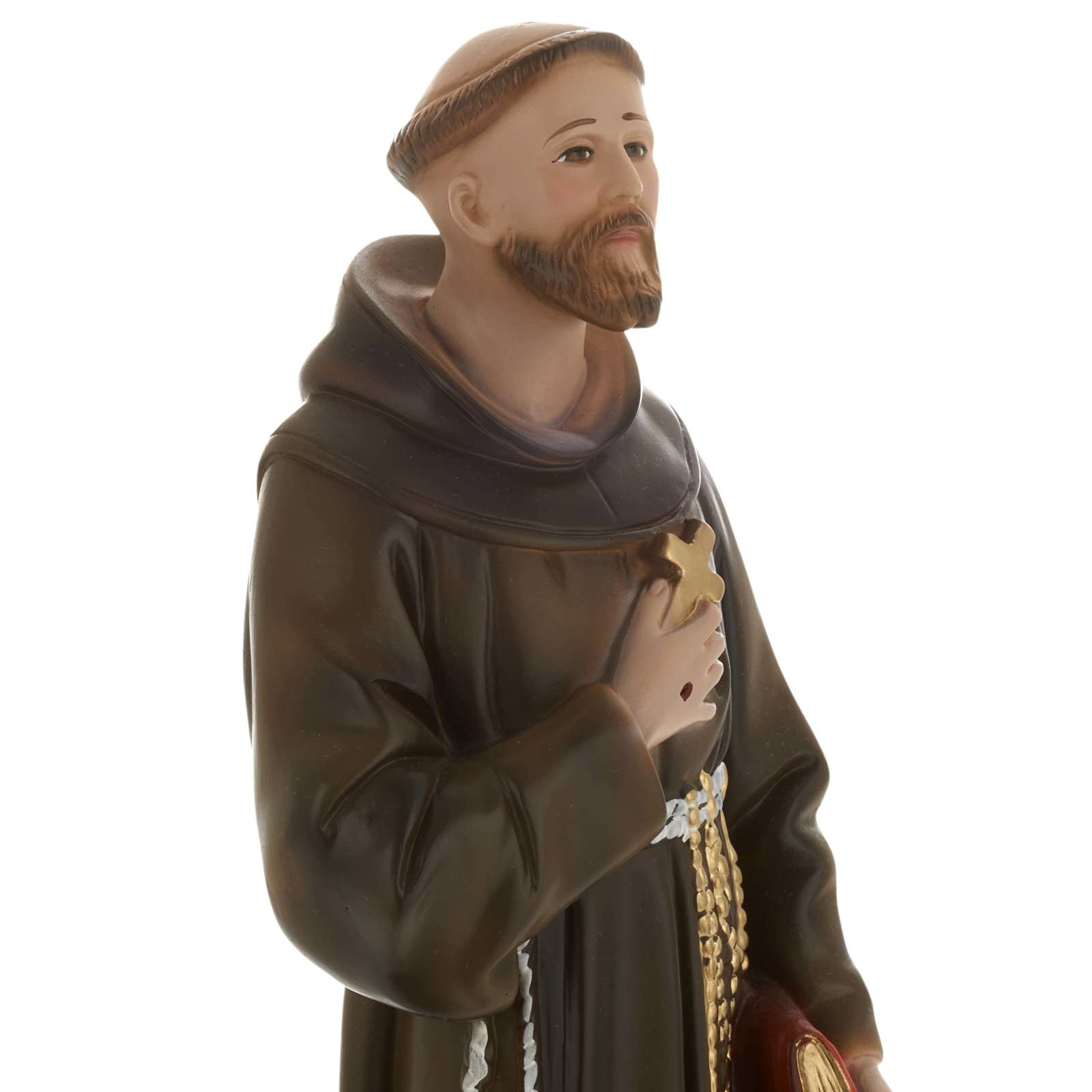 Saint Francis of Assisi plaster statue,  40 cm 4