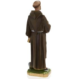 Saint Francis of Assisi plaster statue,  40 cm s6