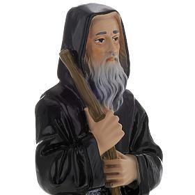 Statua San Francesco di Paola gesso 20 cm s2