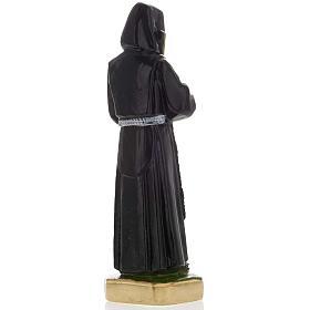 Statua San Francesco di Paola gesso 20 cm s4