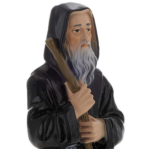 Statua San Francesco di Paola gesso 20 cm 2